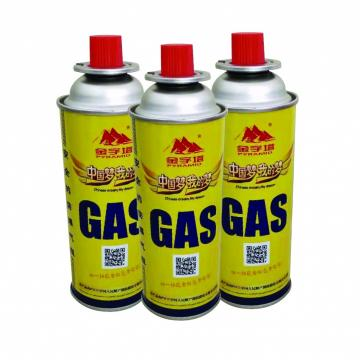 Camping Refill 230g 250g Household Butane Gas Cartridge For Camping