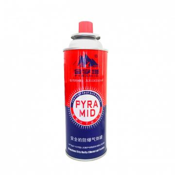 220g butane gas cartridge fuel China butane aerosol cans