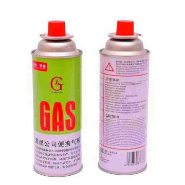 220G nozzle type Camping butane gas cartridge for portable gas stove