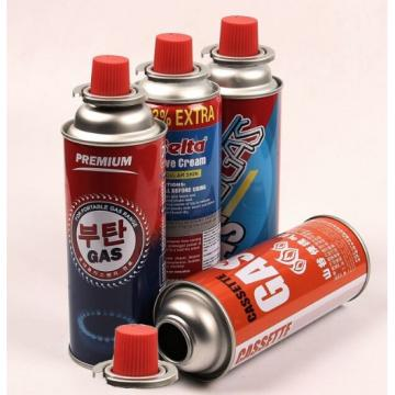 Empty butane canister gas can butane gas canister for portable gas