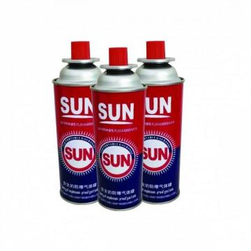 99% Universal BBQ Butane canister 220g and butane gas fuel