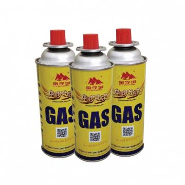 Safety Flame Control Butane gas cartridge 220g and butane gas fuel